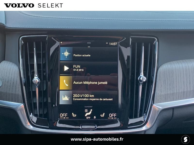 Volvo V90 T8 AWD Recharge 303 + 87ch Inscription Luxe Geartronic Noir occasion à Lormont - photo n°10