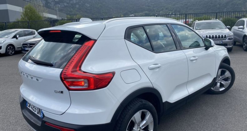 Volvo XC40 D4 AWD 190CH ADBLUE FIRST EDITION GEARTRONIC 8 Blanc occasion à VOREPPE - photo n°3