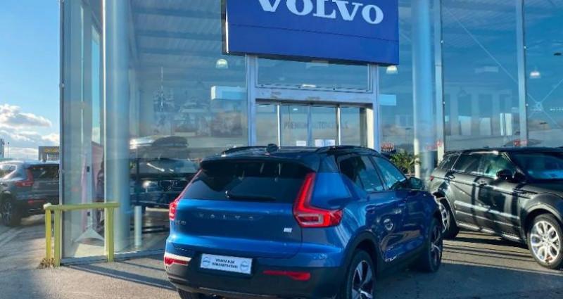 Volvo XC40 P8 AWD 408ch R-Design EDT Bleu occasion à BARBEREY SAINT SULPICE - photo n°2