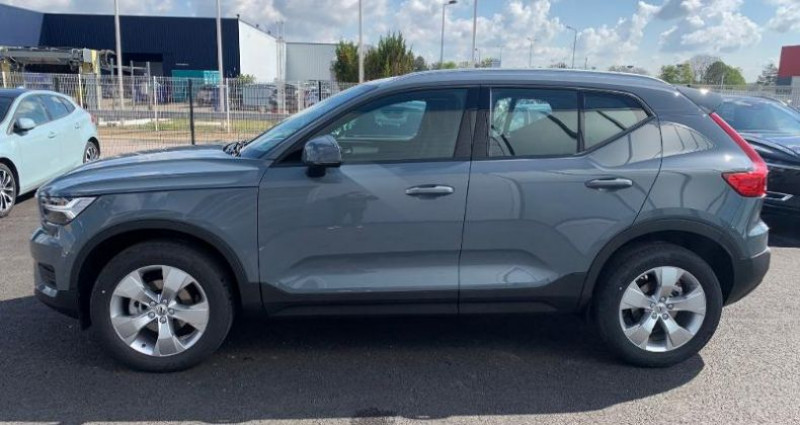 Volvo XC40 T2 129ch Momentum Geartronic 8 Gris occasion à BARBEREY SAINT SULPICE - photo n°2