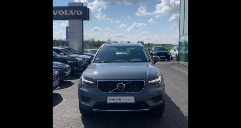 Volvo XC40 T2 129ch Momentum Geartronic 8 Gris occasion à BARBEREY SAINT SULPICE