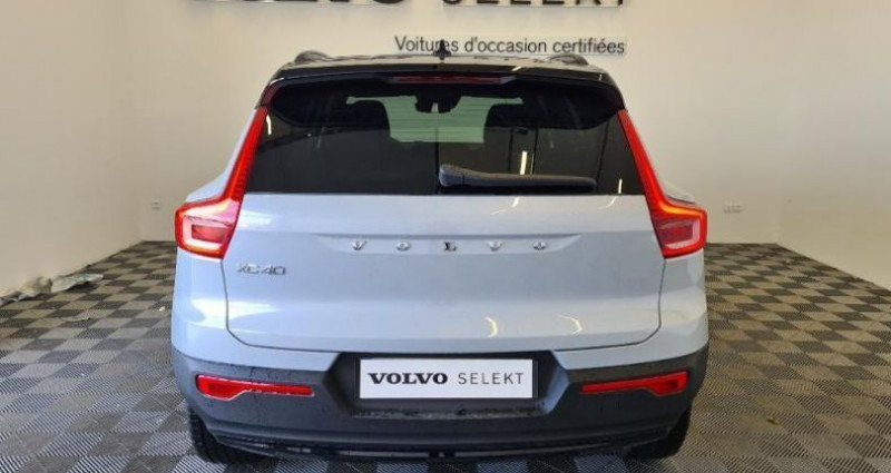 Volvo XC40 T3 163ch R-Design Geartronic 8 Gris occasion à TOURLAVILLE - photo n°5