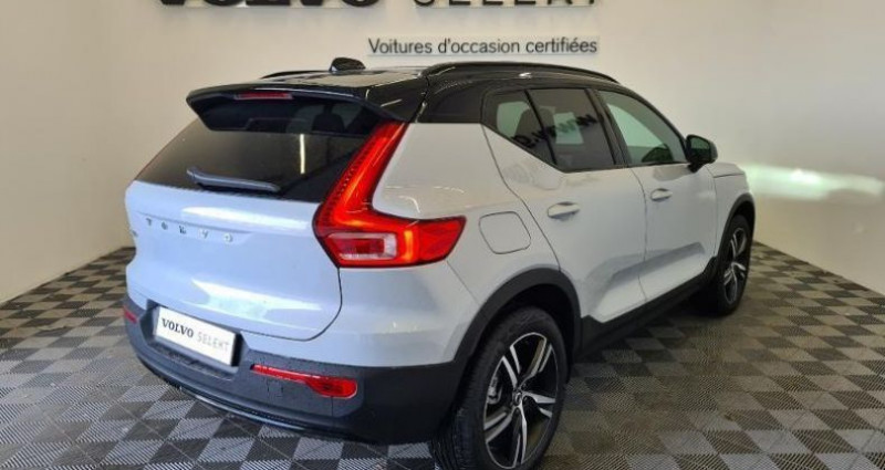Volvo XC40 T3 163ch R-Design Geartronic 8 Gris occasion à TOURLAVILLE - photo n°4