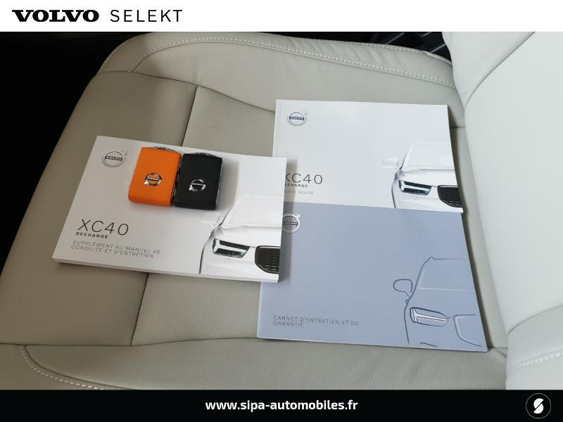 Volvo XC40 T5 Recharge 180 + 82ch Business DCT 7 Bleu occasion à Mérignac - photo n°6
