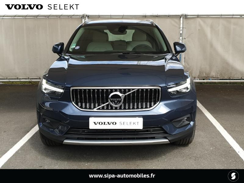 Volvo XC40 T5 Recharge 180 + 82ch Business DCT 7 Bleu occasion à Mérignac - photo n°4