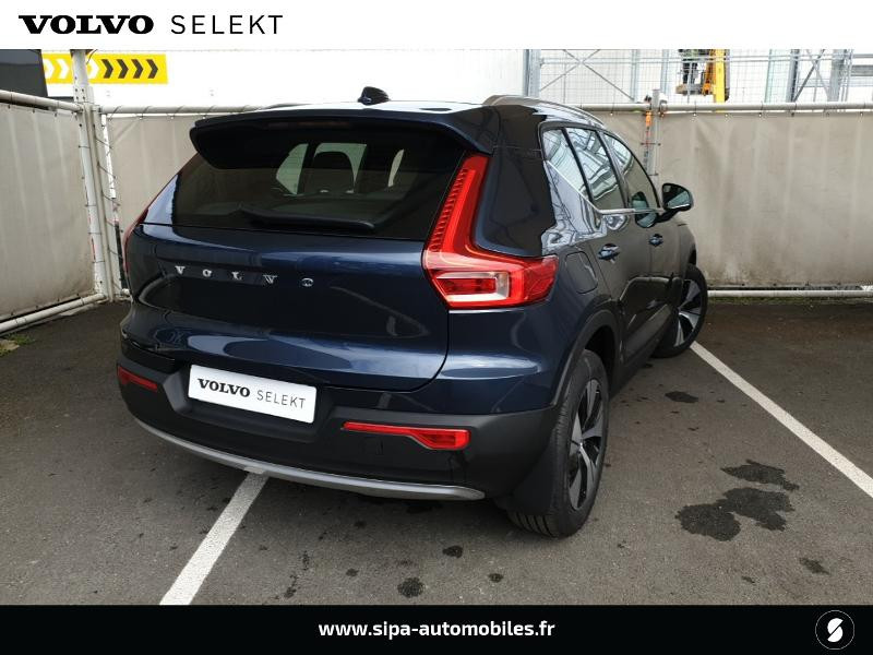 Volvo XC40 T5 Recharge 180 + 82ch Business DCT 7 Bleu occasion à Mérignac - photo n°3