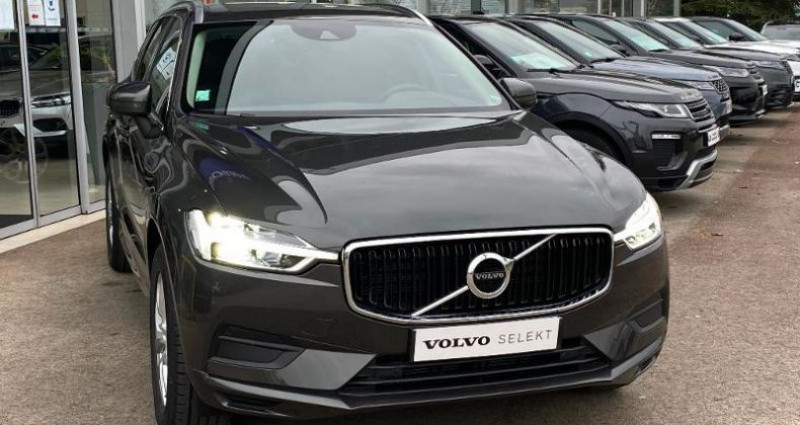 Volvo XC60 B4 AdBlue AWD 197ch Business Executive Geartronic Gris occasion à BARBEREY SAINT SULPICE - photo n°4