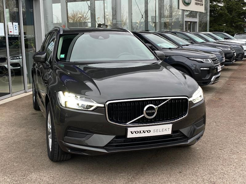 Volvo XC60 B4 AdBlue AWD 197ch Business Executive Geartronic Gris occasion à Barberey-Saint-Sulpice - photo n°4