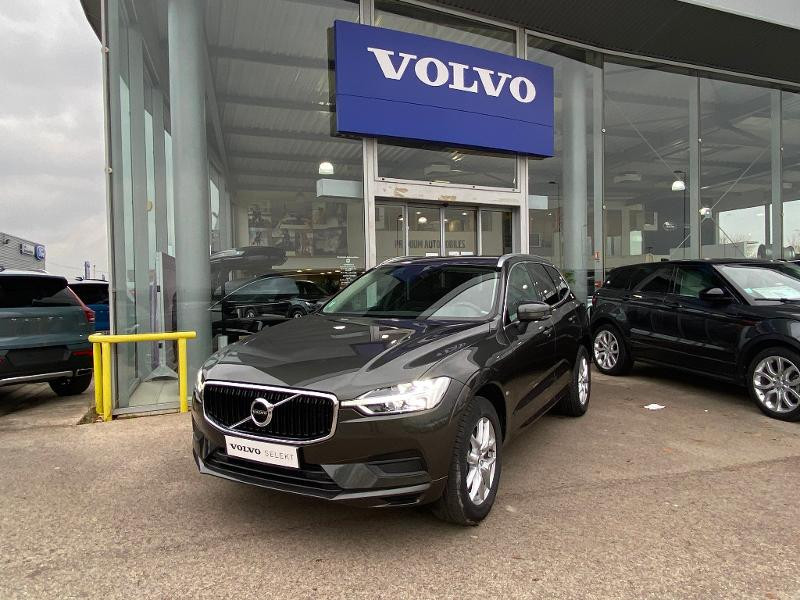 Volvo XC60 B4 AdBlue AWD 197ch Business Executive Geartronic Gris occasion à Barberey-Saint-Sulpice