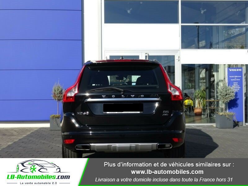Volvo XC60 D4 181 ch Noir occasion à Beaupuy - photo n°5