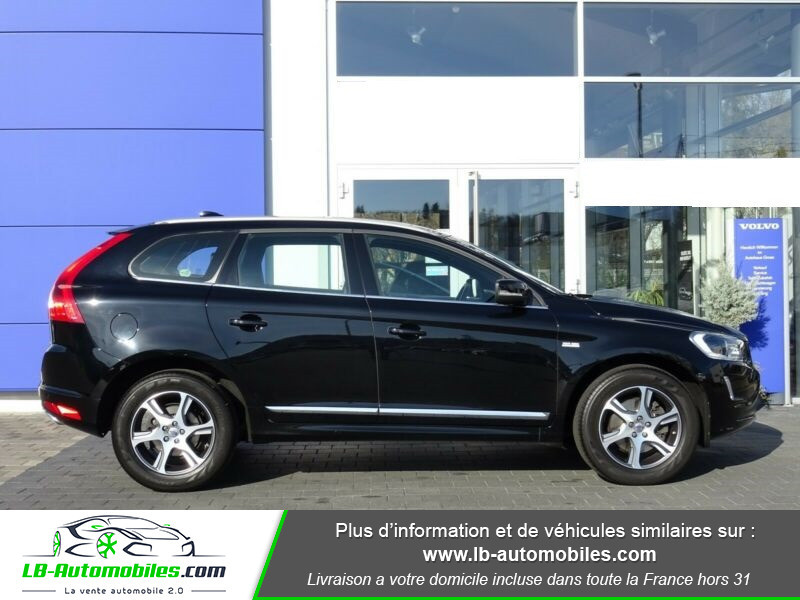 Volvo XC60 D4 181 ch Noir occasion à Beaupuy - photo n°4