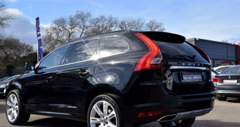 Volvo XC60 D4 181CH SUMMUM GEARTRONIC Noir occasion à VENDARGUES - photo n°7