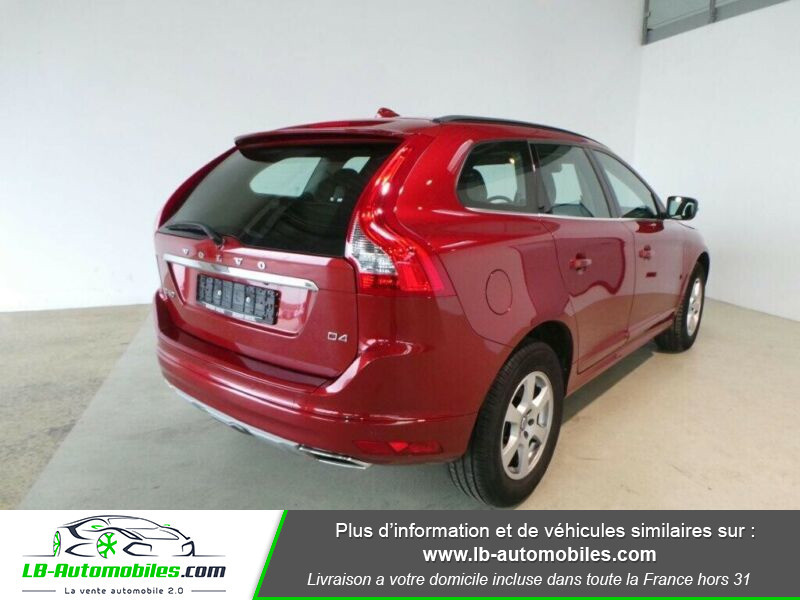 Volvo XC60 D4 190 ch Rouge occasion à Beaupuy - photo n°8