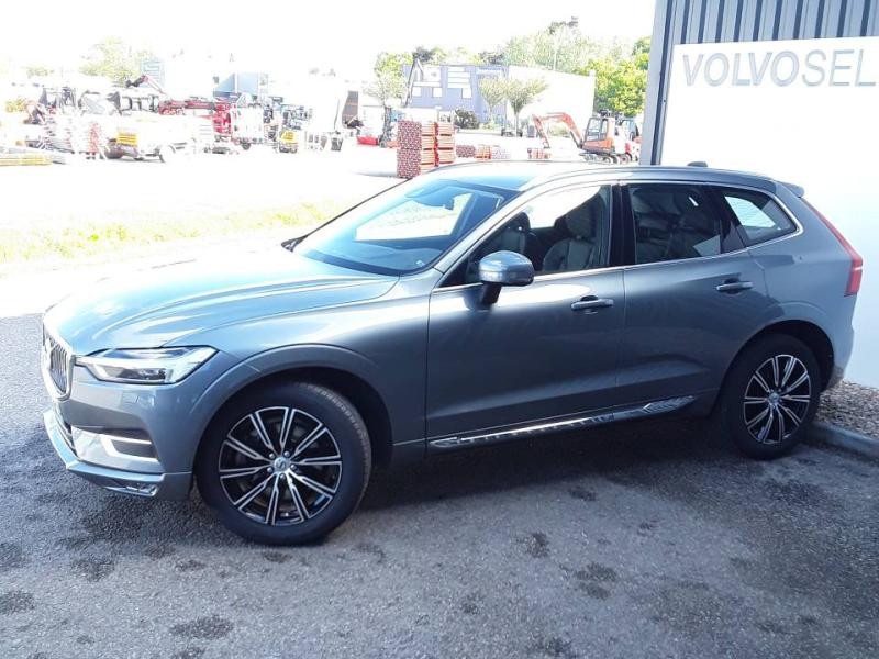 Volvo XC60 D4 AdBlue AWD 190ch Inscription Geartronic Gris occasion à Redon