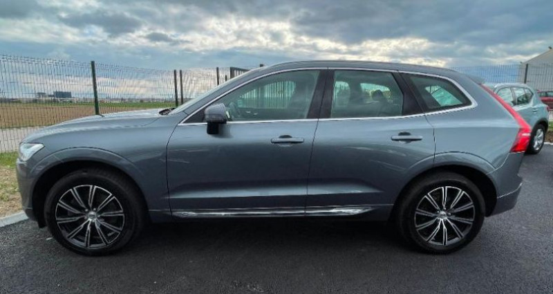 Volvo XC60 D4 AdBlue AWD 190ch Inscription Luxe Geartronic Gris occasion à BARBEREY SAINT SULPICE - photo n°7
