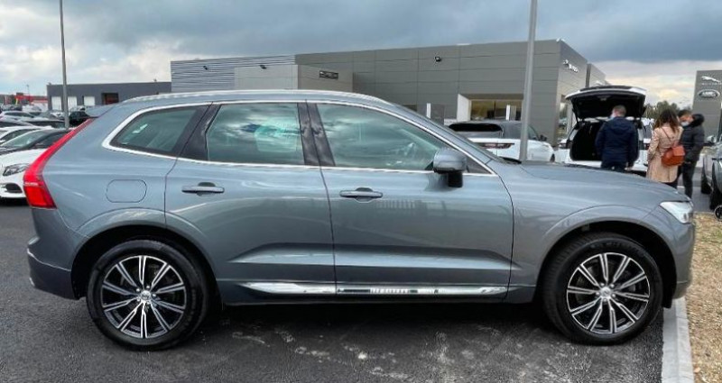 Volvo XC60 D4 AdBlue AWD 190ch Inscription Luxe Geartronic Gris occasion à BARBEREY SAINT SULPICE - photo n°3