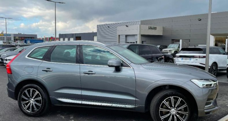 Volvo XC60 D4 AdBlue AWD 190ch Inscription Luxe Geartronic Gris occasion à BARBEREY SAINT SULPICE - photo n°2