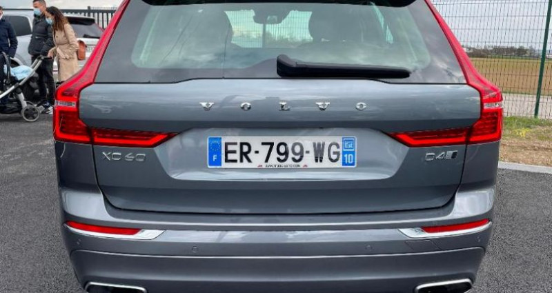 Volvo XC60 D4 AdBlue AWD 190ch Inscription Luxe Geartronic Gris occasion à BARBEREY SAINT SULPICE - photo n°5