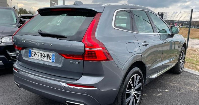 Volvo XC60 D4 AdBlue AWD 190ch Inscription Luxe Geartronic Gris occasion à BARBEREY SAINT SULPICE - photo n°4