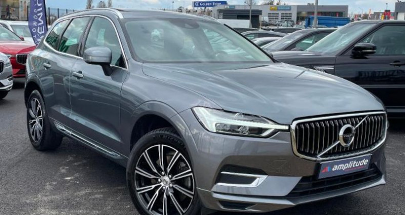 Volvo XC60 D4 AdBlue AWD 190ch Inscription Luxe Geartronic Gris occasion à BARBEREY SAINT SULPICE