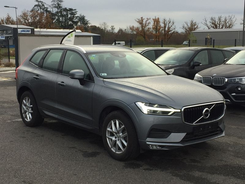 Volvo XC60 D4 ADBLUE AWD 190CH MOMENTUM GEARTRONIC Gris occasion à Campsas - photo n°4