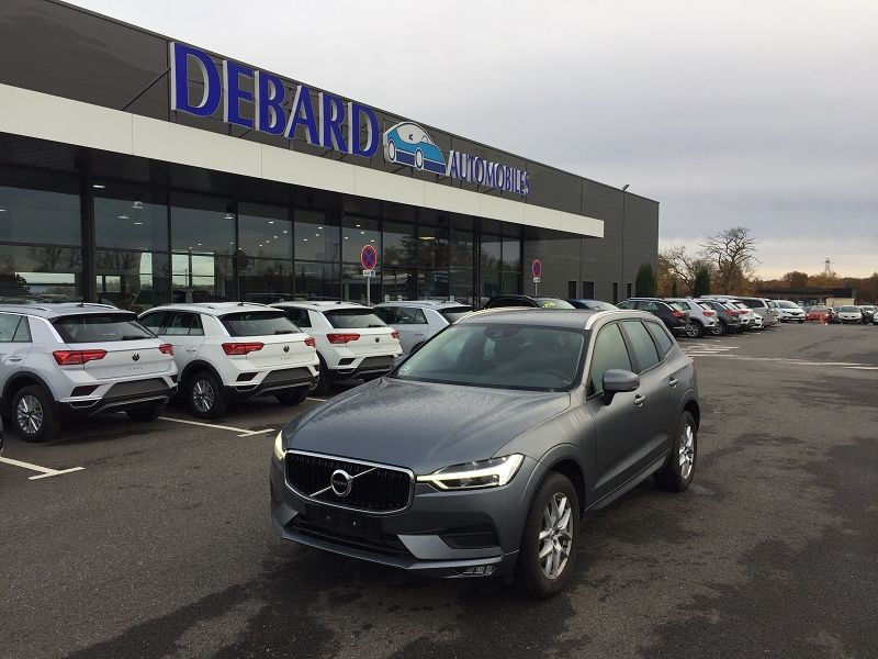 Volvo XC60 D4 ADBLUE AWD 190CH MOMENTUM GEARTRONIC Gris occasion à Campsas