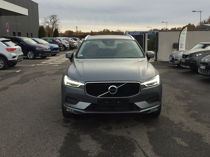 Volvo XC60 D4 ADBLUE AWD 190CH MOMENTUM GEARTRONIC Gris occasion à Campsas - photo n°3