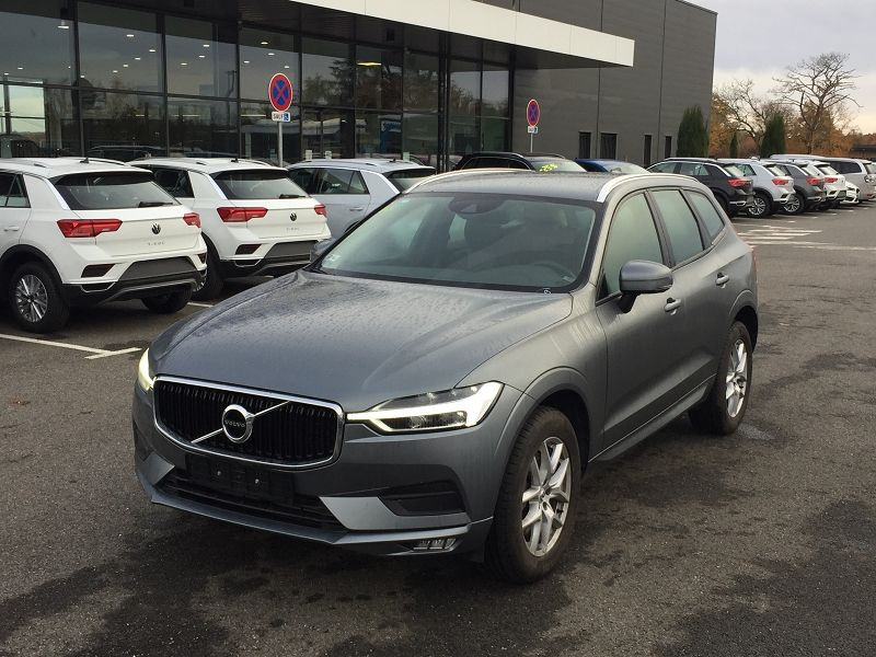 Volvo XC60 D4 ADBLUE AWD 190CH MOMENTUM GEARTRONIC Gris occasion à Campsas - photo n°2