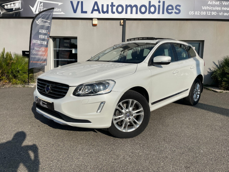 Volvo XC60 D4 AWD 163CH SUMMUM GEARTRONIC Blanc occasion à Colomiers