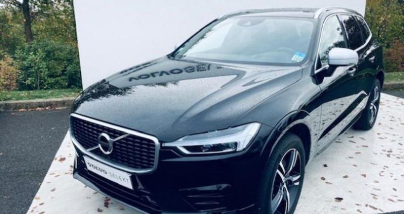 Volvo XC60 D4 AWD 190ch R-Design Geartronic Noir occasion à Montévrain