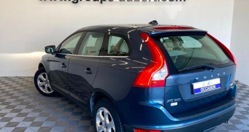 Volvo XC60 D5 AWD 215ch Xenium Geartronic Bleu occasion à TOURLAVILLE - photo n°4