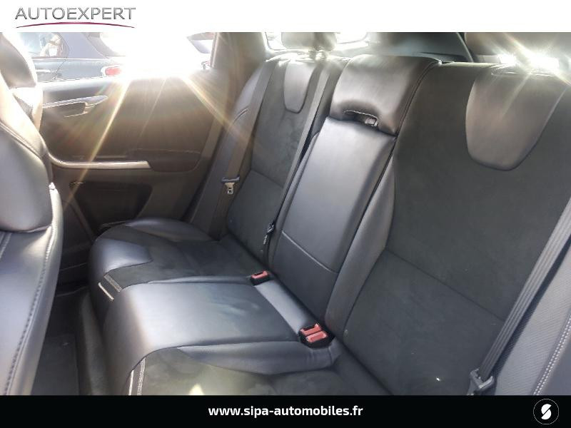 Volvo XC60 D5 AWD 220ch R-Design Geartronic Noir occasion à Villenave-d'Ornon - photo n°11