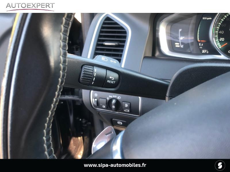 Volvo XC60 D5 AWD 220ch R-Design Geartronic Noir occasion à Villenave-d'Ornon - photo n°16