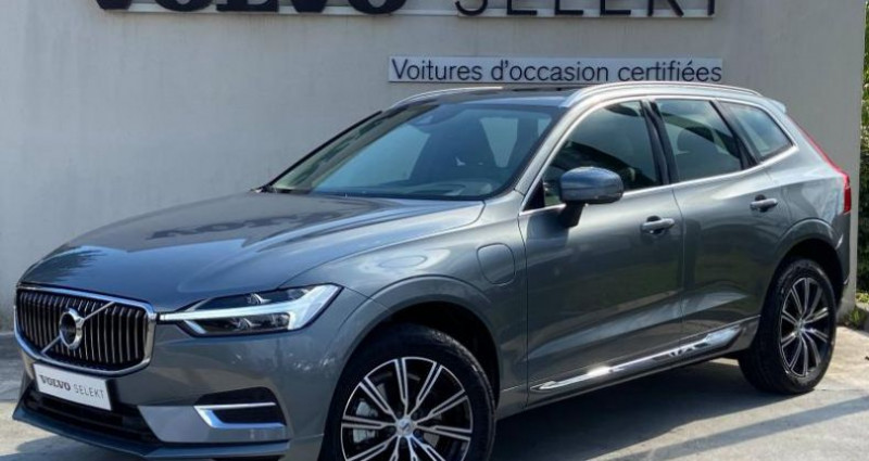 Volvo XC60 T6 AWD 253 + 87ch Inscription Luxe Geartronic Gris occasion à Orléans