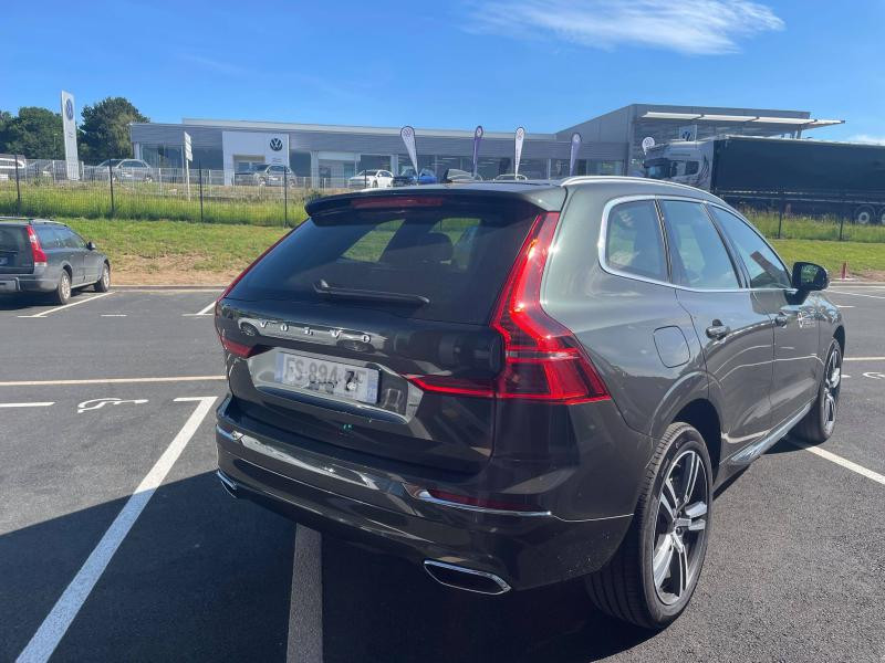 Volvo XC60 T6 AWD 253 + 87ch Inscription Luxe Geartronic Gris occasion à Quimper - photo n°4