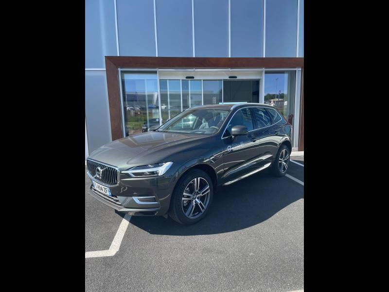 Volvo XC60 T6 AWD 253 + 87ch Inscription Luxe Geartronic Gris occasion à Quimper - photo n°1
