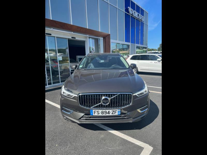 Volvo XC60 T6 AWD 253 + 87ch Inscription Luxe Geartronic Gris occasion à Quimper - photo n°2