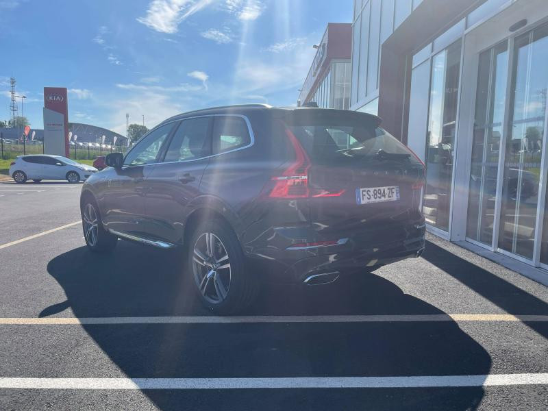 Volvo XC60 T6 AWD 253 + 87ch Inscription Luxe Geartronic Gris occasion à Quimper - photo n°5