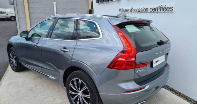 Volvo XC60 T8 AWD Recharge 303 + 87ch Inscription Luxe Geartronic Gris occasion à AUBIERE - photo n°2