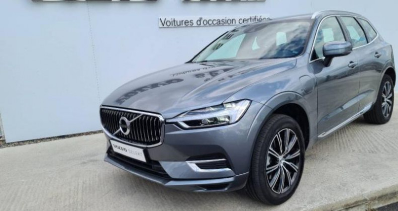 Volvo XC60 T8 AWD Recharge 303 + 87ch Inscription Luxe Geartronic Gris occasion à AUBIERE