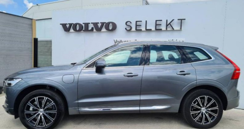 Volvo XC60 T8 AWD Recharge 303 + 87ch Inscription Luxe Geartronic Gris occasion à AUBIERE - photo n°6