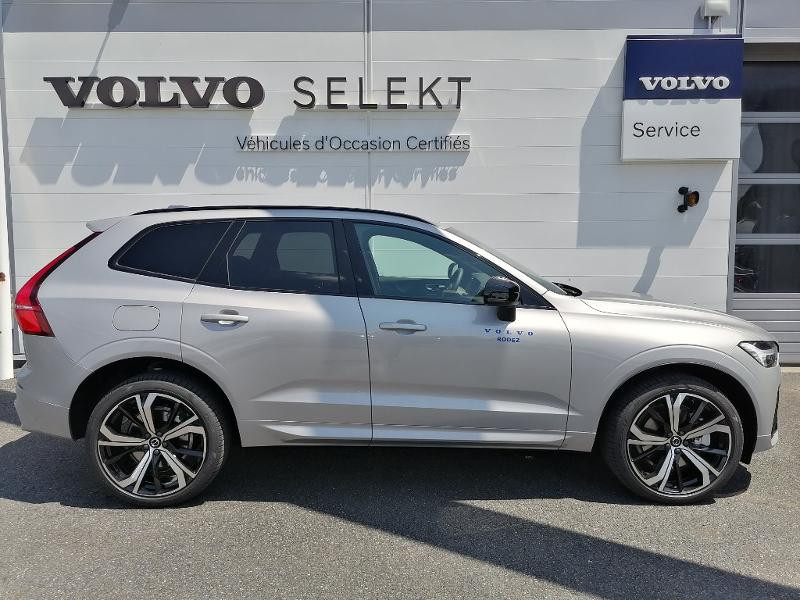 Volvo XC60 T8 AWD Recharge 303 + 87ch R-Design Geartronic Argent occasion à Onet-le-Château - photo n°6