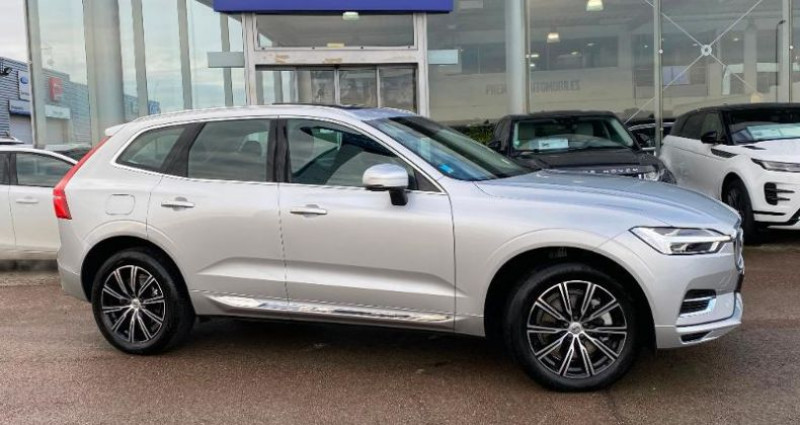 Volvo XC60 T8 Twin Engine 303 + 87ch Inscription Geartronic Gris occasion à BARBEREY SAINT SULPICE