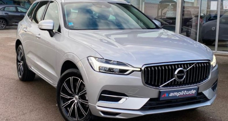Volvo XC60 T8 Twin Engine 303 + 87ch Inscription Geartronic Gris occasion à BARBEREY SAINT SULPICE - photo n°2