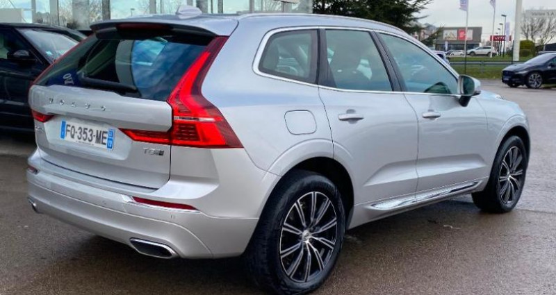 Volvo XC60 T8 Twin Engine 303 + 87ch Inscription Geartronic Gris occasion à BARBEREY SAINT SULPICE - photo n°3