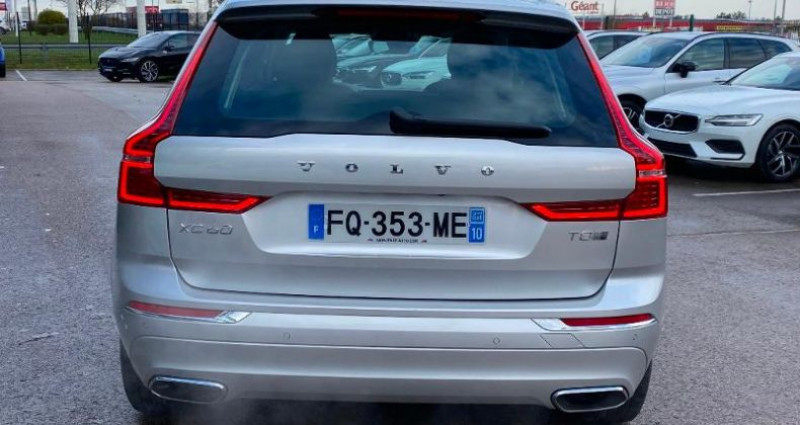 Volvo XC60 T8 Twin Engine 303 + 87ch Inscription Geartronic Gris occasion à BARBEREY SAINT SULPICE - photo n°4