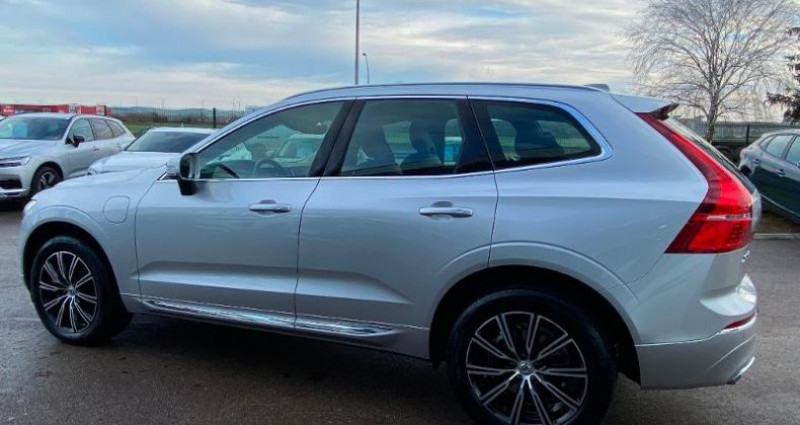 Volvo XC60 T8 Twin Engine 303 + 87ch Inscription Geartronic Gris occasion à BARBEREY SAINT SULPICE - photo n°5