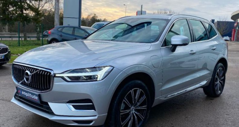 Volvo XC60 T8 Twin Engine 303 + 87ch Inscription Geartronic Gris occasion à BARBEREY SAINT SULPICE - photo n°6