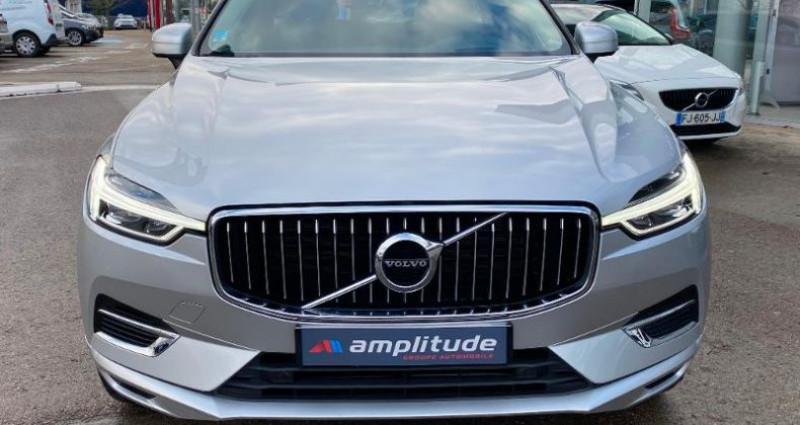 Volvo XC60 T8 Twin Engine 303 + 87ch Inscription Geartronic Gris occasion à BARBEREY SAINT SULPICE - photo n°7
