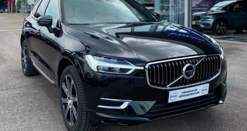 Volvo XC60 T8 Twin Engine 303 + 87ch Inscription Luxe Geartronic Noir occasion à BARBEREY SAINT SULPICE - photo n°2